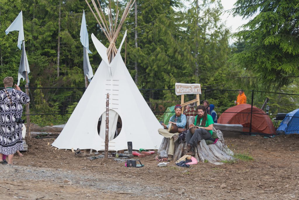 The Whishing Tent - Photo by Kirsten James