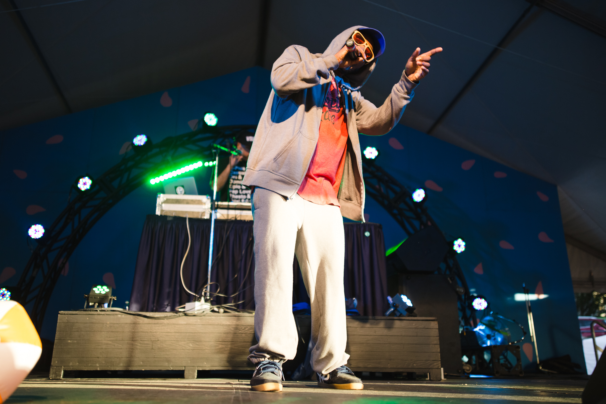 Del the Funky Homosapien - Photo by Lindsey Blane