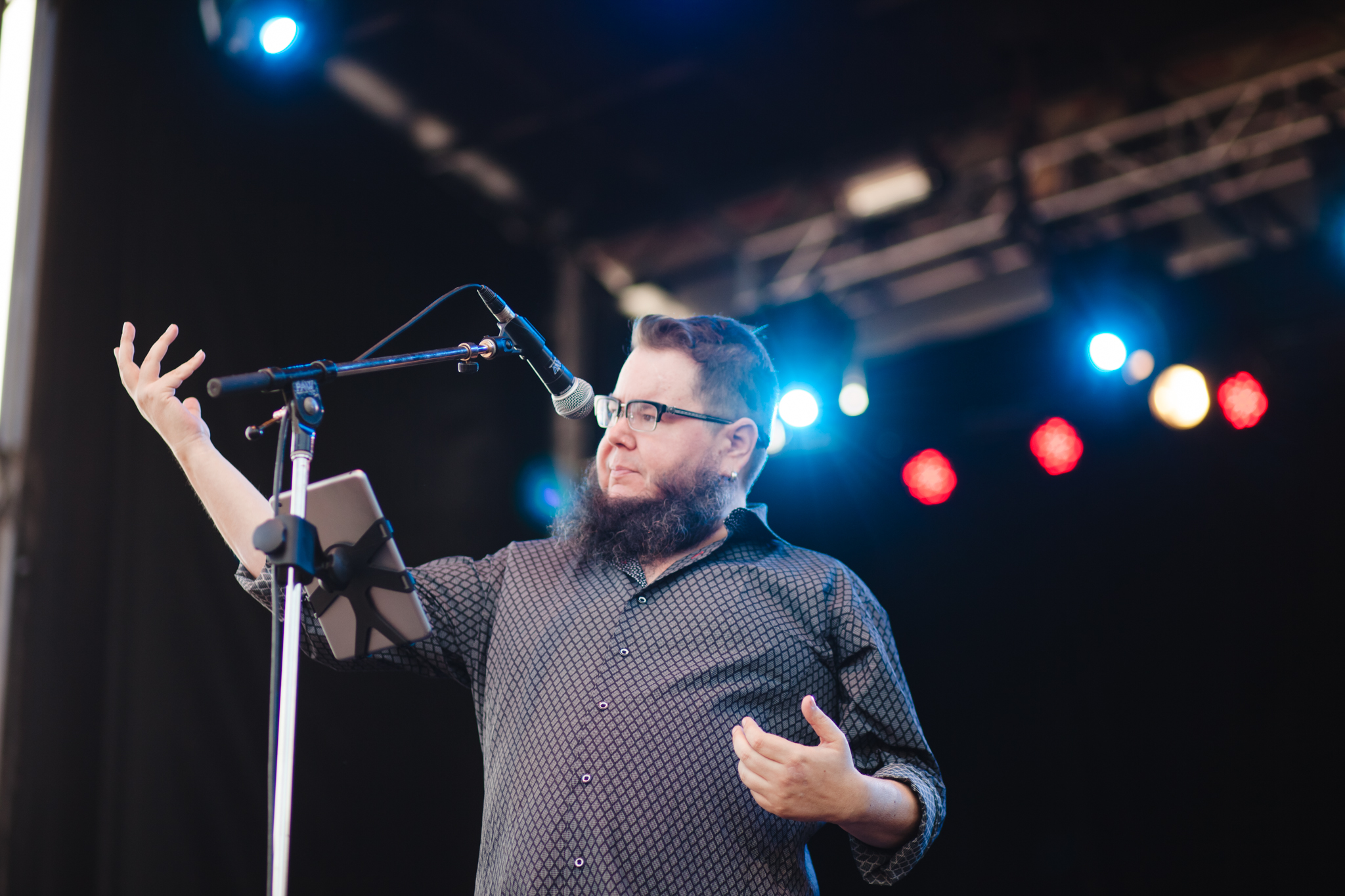Shane Koyczan - Photo by Lindsey Blane