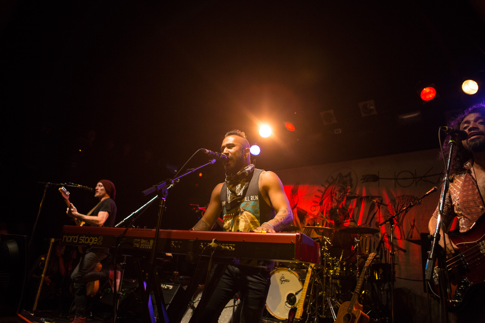 Nahko & The Medicine For The People - Photo by Tyson Elder